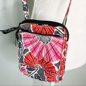 Vera Bradley Cheery Blossoms Mini Hipster